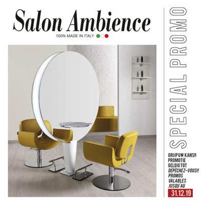 Salon Ambience aanbieding kappersstation